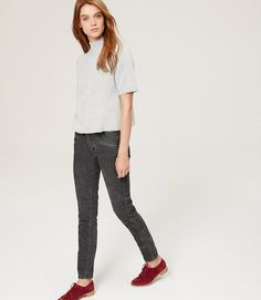 Primary Image of Moto Skinny Ankle Corduroys in Marisa Fit