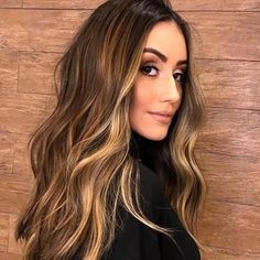 2019 brown wig 2 The Effective Pictures We Offer You About ombre hair styles A quali Brown Hair With Blonde Highlights, Brown Ombre Hair, Brown Balayage, Light Brown Hair, Light Hair, Brown Hair Colors, Hair Highlights, Balayage Hair, Dark Brown