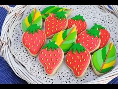 HOW TO DECORATE STRAWBERRY COOKIES, SIMPLE PACKAGING IDEA