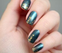 Inspiring picture gold, mermaid, nail art. Resolution: 600x400 px. Find the picture to your taste!