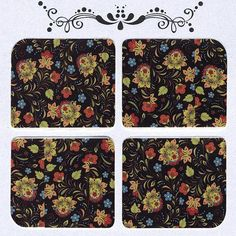 Items similar to Daily Decals / Retro Floral Print Over Black Water Transfer Decals / Nail Stickers on Etsy Retro Floral, Ditsy Floral, Black Water, Nail Stickers, Decals, Floral Prints, Color, Etsy, Design