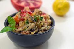 Couscous Salat mit Aubergine <3