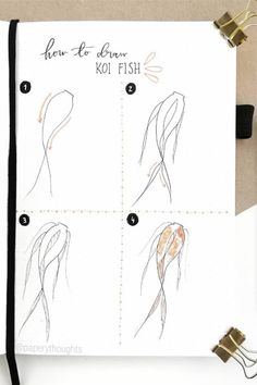 Best Step By Step Ocean Doodles For Bullet Journals - Crazy Laura - Rose doodles - Bullet Journal Banner, Bullet Journal Notebook, Bullet Journal School, Bullet Journal Ideas Pages, Bullet Journal Inspiration, Bullet Journals, Bullet Journal For Men, Doodle Drawings, Easy Drawings
