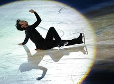 Daisuke Takahashi of Japan performs his routine in the exhibition event after The Cup of China, the third event on the ISU Grand Prix figure skating tour, in Shanghai on November 4, 2012.