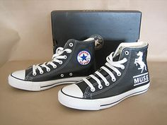Knights of Cydonia<3 New Converse, Converse Chuck Taylor, Muse Art, Cool Bands, Knights, Trainers, High Top Sneakers, Cool Outfits, Money