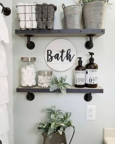If you are looking for Small Bathroom Decor Ideas, You come to the right place. Below are the Small Bathroom Decor Ideas. This post about Small Bathroom Decor Ideas was posted under the Bathroom categ. Small Bathroom Storage, Bathroom Design Small, Diy Bathroom Decor, Diy Home Decor, Bathroom Designs, Wall Storage, Storage Ideas, Storage Solutions, Bathroom Ideas