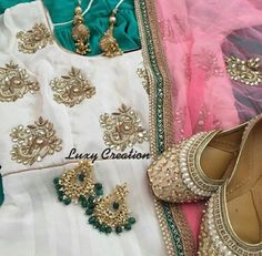 Punjabi outfit, perfect for parties/casualwear...Love the colour combination