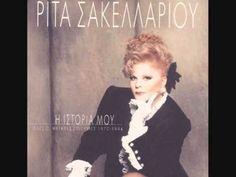 1994 Ρίτα Σακελλαρίου Ιστορία μου Νο1 - YouTube Greek Music, Jazz, Blues, Youtube, The Incredibles, Popular, Songs, Movie Posters, Exotic