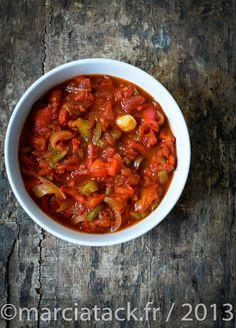 Chouchouka ou poivronade, c'est une recette idéale en été !
