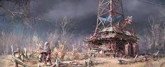 Some Concept Art FromFallout 4
