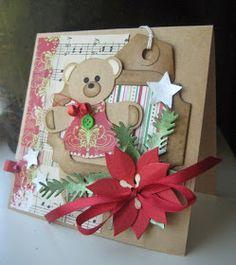 Ik mocht op de cover staan van de Marianne Doe 24, is dat niet leuk?         Deze werkstukken maakte ik met de Marianne Kerstbeertjes.   (...