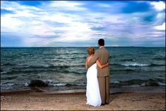 Traverse City Sweet and Simple Beach Weddings