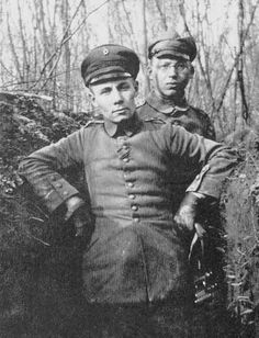 Erwin Rommel during World War One