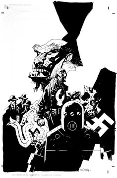 Lobster Johnson by Mike Mignola