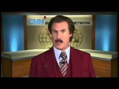 Ron Burgundy on Let Me Off at the Top! - YouTube