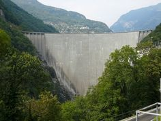 Contra Dam  The 220-m tall dam became a popular bungee jumping venue after a James Bond stuntman jumped off it in the opening scene of the 1995 film GoldenEye.  The Contra Dam, commonly known as the Verzasca Dam and the Locarno Dam, is an arch dam on the Verzasca River in the Val Verzasca of Ticino, Switzerland. The dam is owned and operated by Verzasca SA and is the fourth tallest in Switzerland.