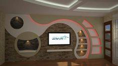 Elegant Living Room Design, Bedroom False Ceiling Design, Tv Wall Design, House Ceiling Design, Wall Unit Designs, House Arch Design, Wall Design, Wall Tv Unit Design, Tv Wall Decor