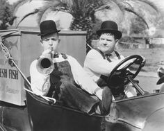 Stan Laurel and Oliver Hardy Laurel And Hardy, Stan Laurel Oliver Hardy, Great Comedies, Classic Comedies, Classic Films, Caricatures, Tandem, Photo Star, Comedy Duos