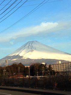 Mt.Fuji 富士山 2/3/2015 (Shizuoka Japan 静岡県裾野市)