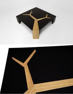 Organic Wood Tables Features Tree Fractals