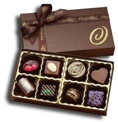 Choclatique Gourmet Chocolate Sampler (8-Piece Box)