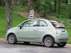 I want you! 2012 Fiat 500C Cabrio