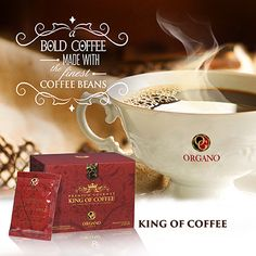 Bold coffee made with the finest beans  torresfamilycafe.organogold.com or for free sample email me torresfamilycafe@gmail.com