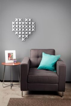 Cross stitch wall decor