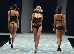 Salon International de la Lingerie Paris 2013    #fashion #fashionshow #lingerie #paris #catwalk