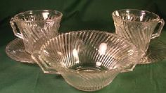 Diana Depression Glass            Manufacturer: Federal Glass              Dates Manufactured: 1937 to 1941