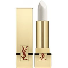 Yves Saint Laurent Rouge Pur Couture lipstick SPF 15 ($31) ❤ liked on Polyvore featuring beauty products, makeup, lip makeup, lipstick, lip, yves saint laurent lipstick and yves saint laurent
