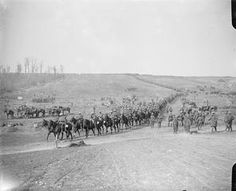 WW1, 18 Sept 1916, Somme, Battle of Flers-Courcelette, 2nd Dragoon Guards…