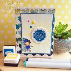 Karla Yungwirth Designs: Kraftin' Kimmie Stamps Saturday Challenge #536 - Use A Stencil!