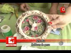 SEMPRE FELIZ - Aprenda a fazer molduras com pátina provençal e aplique com tecido - YouTube