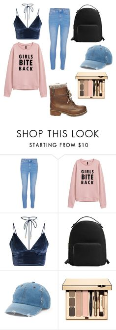 """School cool look"" by gemcullo ❤ liked on Polyvore featuring MANGO, Mudd and Steve Madden"