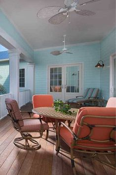 Energy-Efficient House with Soaring Ceilings and Transom Windows Custom Home Designs, Custom Homes, Home Room Design, House Design, Room Design Software, Orange Chairs, Closet Colors, Quirky Decor, 3d Home