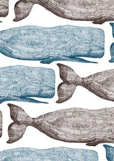 whales by minakani #minakani - https://www.pinterest.com/pin/558446422519972241/