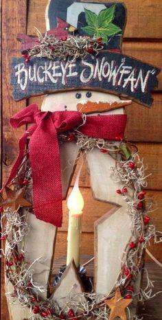 Buckeye Snowman