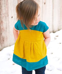Maggie Mae Tunic Pattern - Looks like it would be good in a knit. Kids Clothes Patterns, Sewing Kids Clothes, Baby Kids Clothes, Sewing For Kids, Baby Sewing, Clothing Patterns, Kids Clothing, Sewing Patterns, Sewing Tutorials