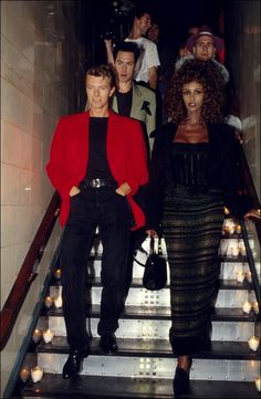 His deep and enduring impact on me was not the music, fashion, or performance art of the man known as David Bowie. It was the heart of the man born as David Jones. It was the story of his love for wife, Iman Mohamed Abdulmajid. David Jones, Mr And Mrs Jones, David Bowie Wife, Iman And David Bowie, Rod Stewart, Mick Jagger, Iman Bowie, Bowie Starman, The Thin White Duke