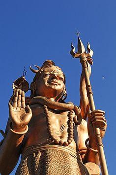 Kailashnath Mahadev Shiva Statue, Banepa, Sanga, Kathmandu Valley, Nepal, Asia