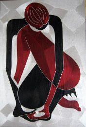 Yeb Silk Thread Art