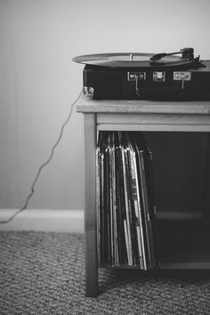 Let great music be the soundtrack to life - the crackle of vinyl records
