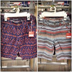 sweet new shorts for the guys! Mossimo $19.99 // #targetdoesitagain