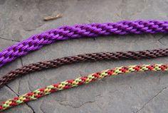 Pulseiras artesanais de seda com a técnica do kumihimo                                                                                                                                                                                 Mais