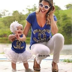 Moda de mama e hija