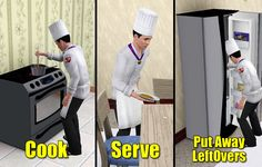 Mod The Sims - Chef Service - v1.4