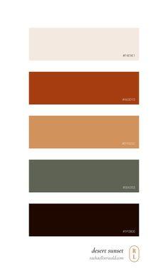 Sunset Color Palette, Sunrise Colors, Orange Color Palettes, Earthy Color Palette, Color Palate, Neutral Colour Palette, Orange Palette, Modern Color Schemes, Colour Schemes
