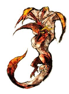 Angelus from Drakengard by Unknown Artist