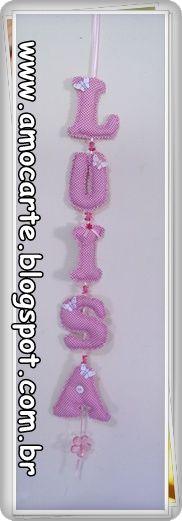 Mobile personalizado http://www.amocarte.blogspot.com.br/
